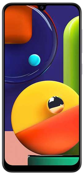 Samsung Galaxy A50s (Prism Crush White, 6GB RAM, 128GB Storage)