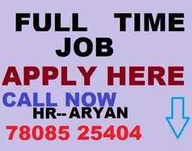 Full time job apply in helper store keeper supervisor  100% JOB HERE
