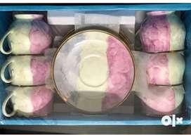 Brand new 6pcs Cup Plate Set