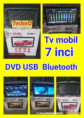 Paket Promo Sale Tv mobil 7 in doubledin LED tape double 2 din