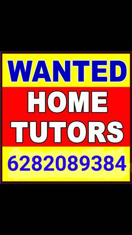 Wanted Home Tutors and Tuition teachers