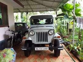 Mahindra 500DI jeep.