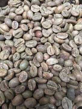 Kopi robusta green bean proses natural gunung sindoro