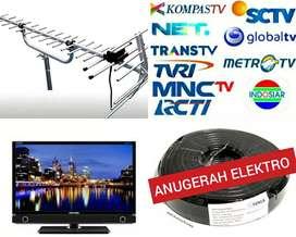 TEKNISI PASANG BARU ANTENA TV UHF DIGITAL