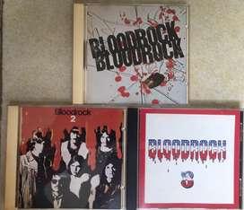 Jual paket Audio CD BLOODROCK 1,2 & 3 kondisi OK