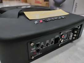 Active Subwoofer, Sub Kolong Sansui 10inch Lengkap Include Instalasi