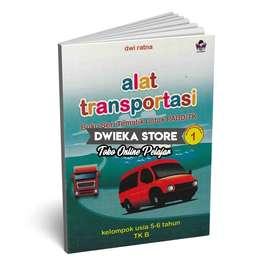 Buku TK B Tematik Semester 1 (5 - 6 Tahun) Alat Transportasi