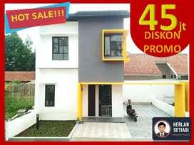 TINGGAL 1UNIT LG Rumah 2 Lantai dktTol Buah batu buahbatu Kiaracondong