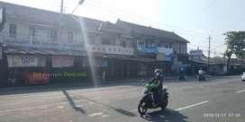 RUANG USAHA + Rumah Tinggal 2 LT tepi Jl Gedongkuning dkt Kalya Hotel