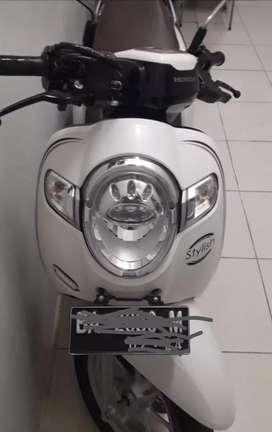 Honda Scoopy Putih