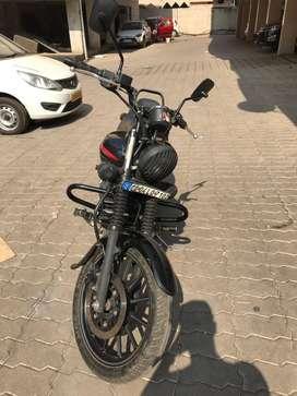 Bajaj Avenger 220 Street Matte Black color