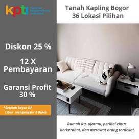 Tajurhalang Dekat Jl. Jakarta - Bogor Pecah Unit Tanah SHM