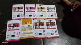 SD Card 8,16,32GB