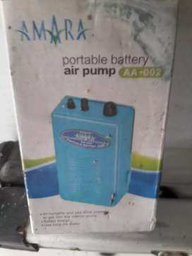 Aquarium dan air pump