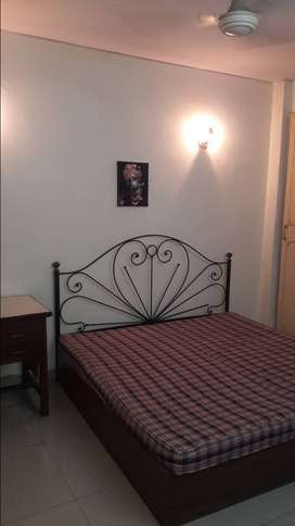 1BHK With Bed Fen Light Almira Lift Bike Parking in Mayur Vihar 1