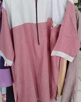 Dijual Baju gamis Fakistan model baru bahan katun