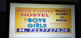 Best friend pg in dr mukherjee ngr and gtb ngr with 3 star facilities