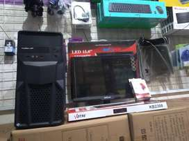 Pc Rakitan LGA 775 Core2duo G31 1set Lengkap.