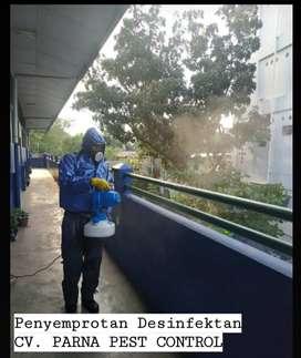 Penyemprotan Desinfektan
