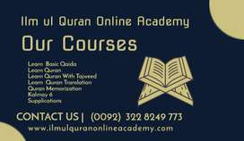Female Quran tutor-Teacher - Online Quran Academy-Online Quran Classes