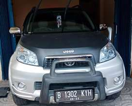 Toyota Rush 1.5 AT MC Silver Th 2013, Dp 10jt bs tkr tambah