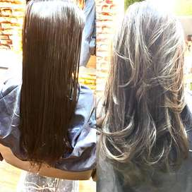 FEMALE HAIR DRASSER