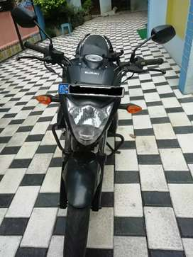 Good Condition Suzuki Gixxer Black