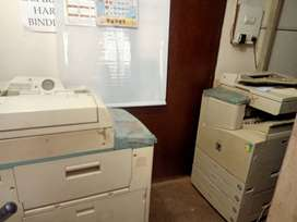 urgently sale stationery shop and xerox machine with computer