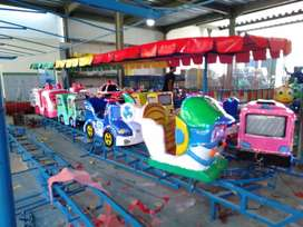 Mini coaster odong odong pabrik mainan RAA komplit