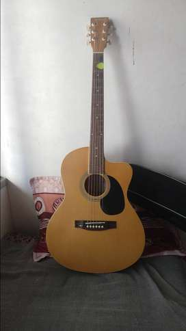 JIIM acoustic guitar with Tuner