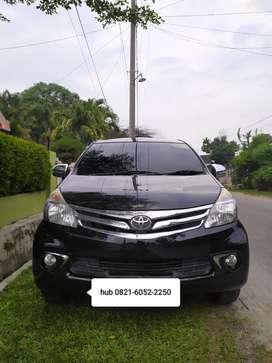 Toyota Avanza G 1.3 M/T 2015 hitam DP 27 JT