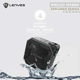 Speaker Bluetooth LENYES Outdoor Waterproof Shockproof 12W Super Bass