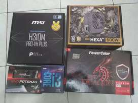 PC Rakitan Gaming High NEW I3 9100F Feat RX 580 8GB Garansi Resmi