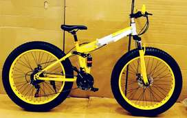 Brand new fat tyre cycles with shocker
