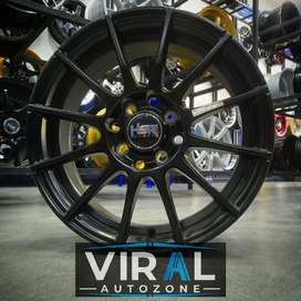 Velg Mobil Ring 15 Racing HSR Lebar 6,5 Vios Avanza Xenia Livina DLL