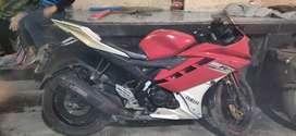 Yamaha r15  version 2.0 ,2012 model