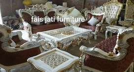 Set sofa tamu bellagio. Rangka kayu jati