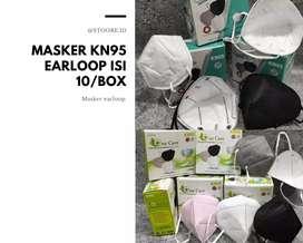 MASKER KN95 PUTIH TERMURAH 25.000/ BOX