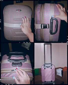 Jual tas koper perlengkapan wanita