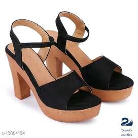 Trendy women heels and sandles