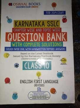 Oswal English question bank