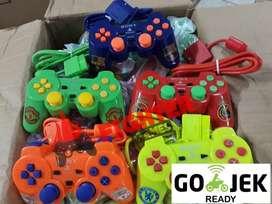 [READY GOJEK] STICK PS2 Warna STIK PS 2 JOYSTICK CONTROLER PLAYSTATION