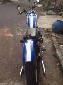 Motor  custom japstyle,chopper,bobber basic thunder 125