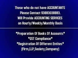 WILL PROVIDE  ACCOUNTING SERVICES