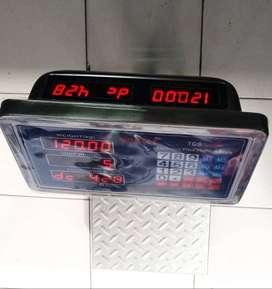 timbangan morizt 150 kg kuat double layar