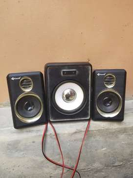 3 some joined speakers for sell