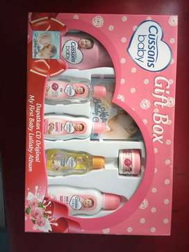 Gift Box baby Cussons