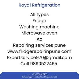 All types fridge / AC & washing machine repair here..
