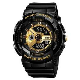 Skmei jam tangan analog digital sporty pria