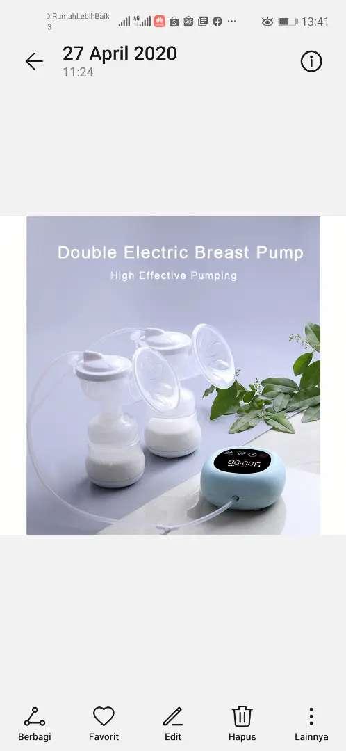 Pompa asi elektrik dual pump 0